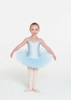 4 layer tutu pale blue