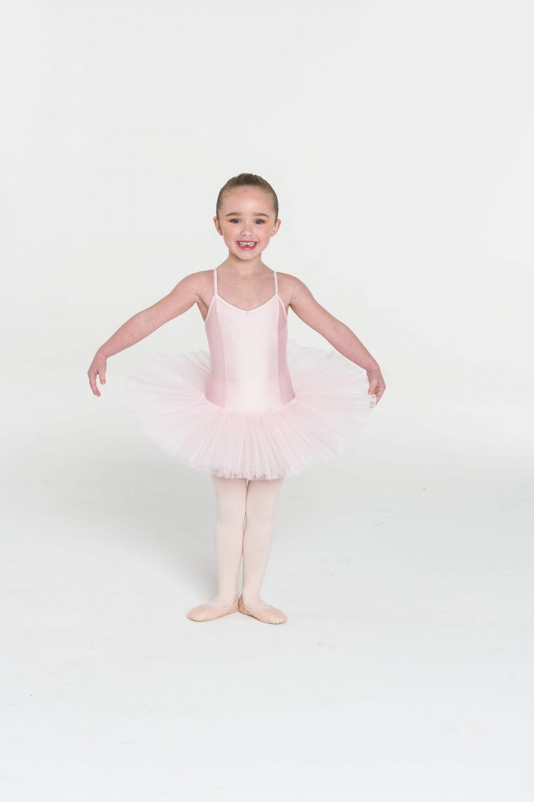 4 layer tutu pale pink