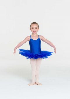 4 layer tutu royal blue