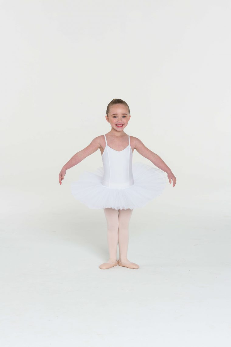 4 layer tutu white