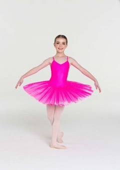 two toned sparkle tutu hot pink