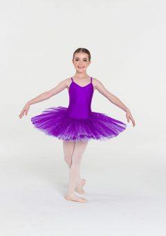 two toned sparkle tutu purple