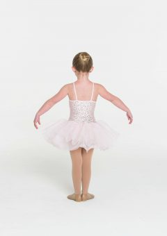 sequin tutu dress pale pink
