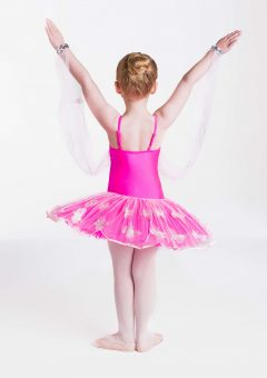 butterfly magic tutu hot pink