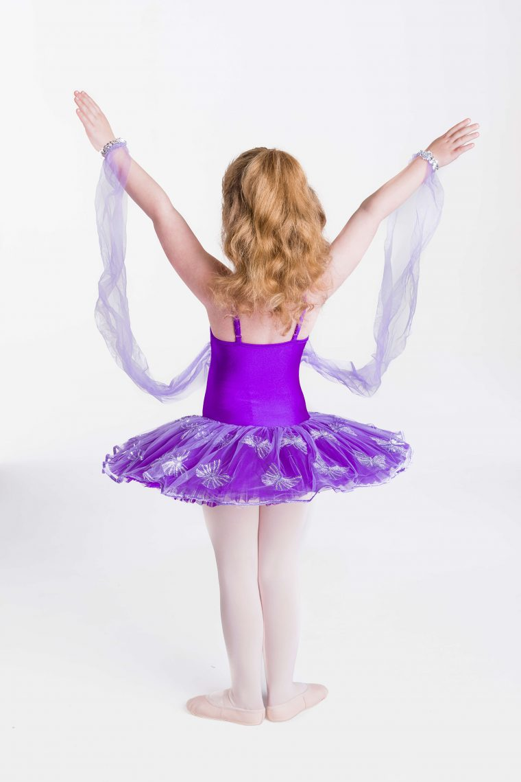 butterfly magic tutu purple