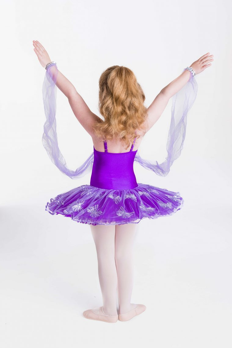 butterfly magic tutu purple
