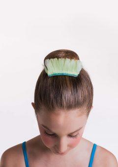 Birds of paradise tutu macaw hairpiece
