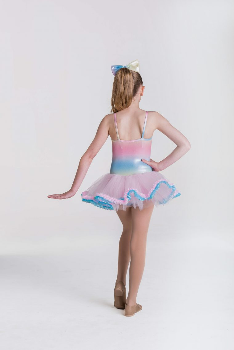 Unicorn Tutu Dress Rainbow