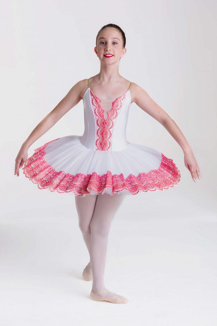 royal tutu white pink