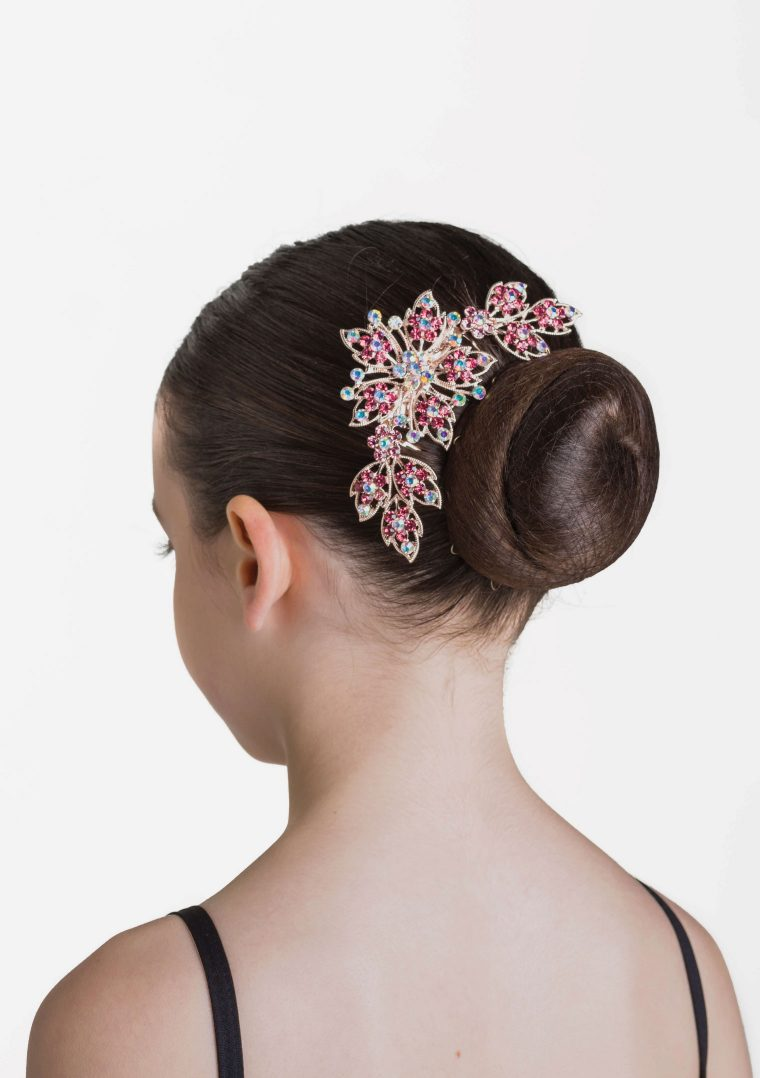 cherry sparkle hair comb