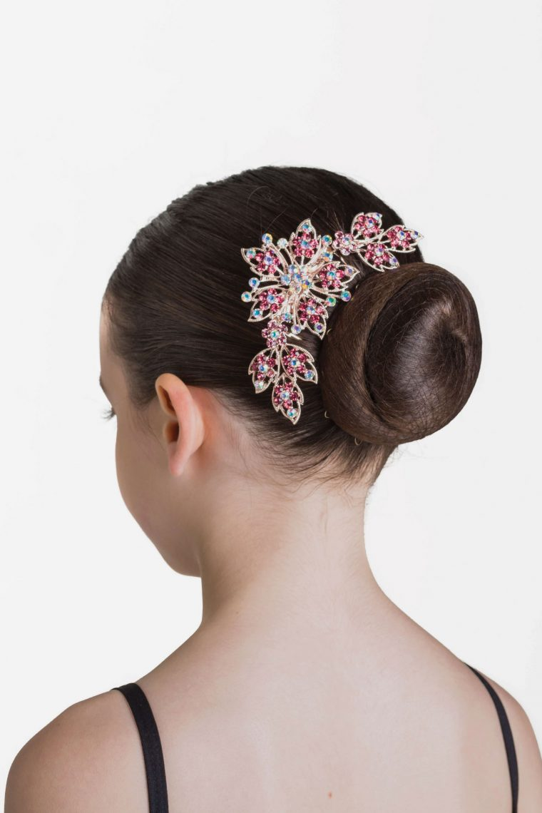 cherry sparkle hair comb