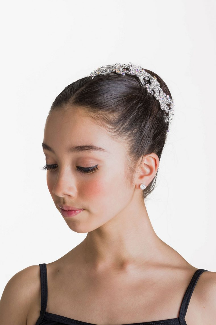 crystal sparkle hair piece