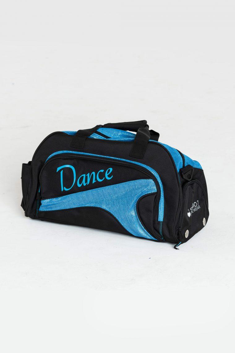 junior duffel bag aqua
