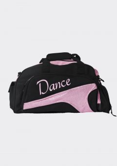 junior duffel bag baby pink