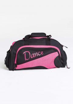 junior duffel bag hot pink