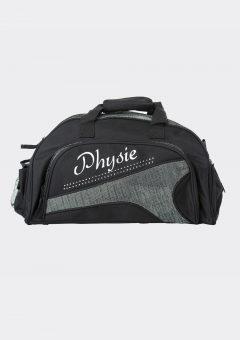 junior duffel bag metallic silver physie