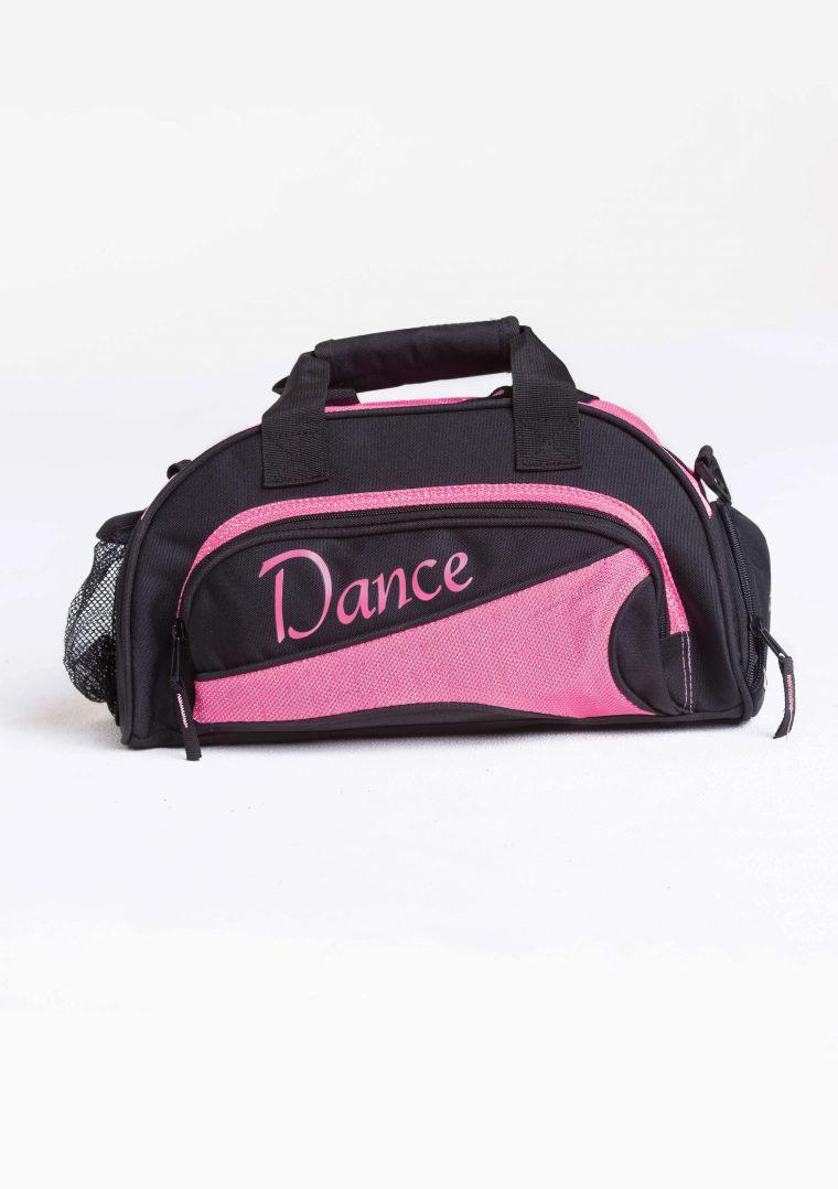 mini duffel bag hot pink