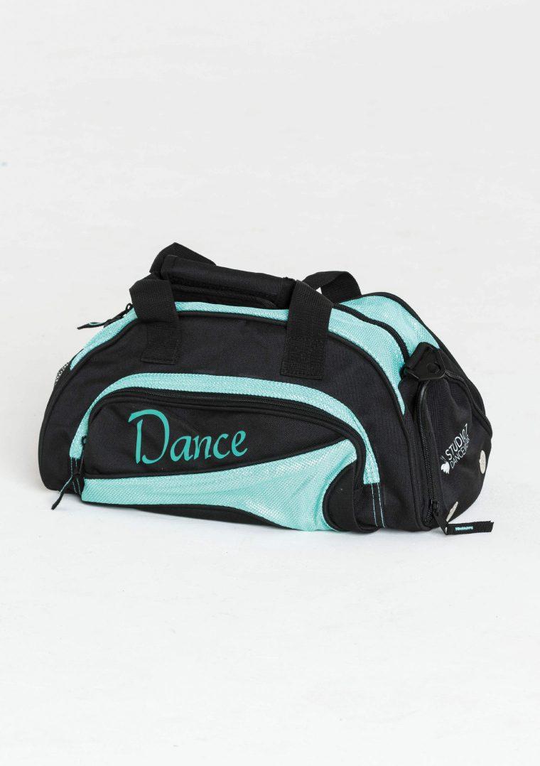 mini duffel bag turquoise