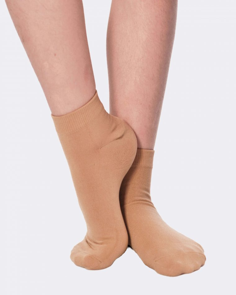 dance socks tan