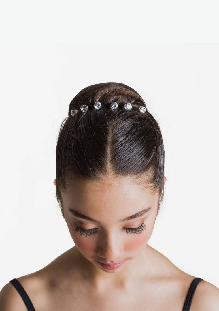 diamante bun pins