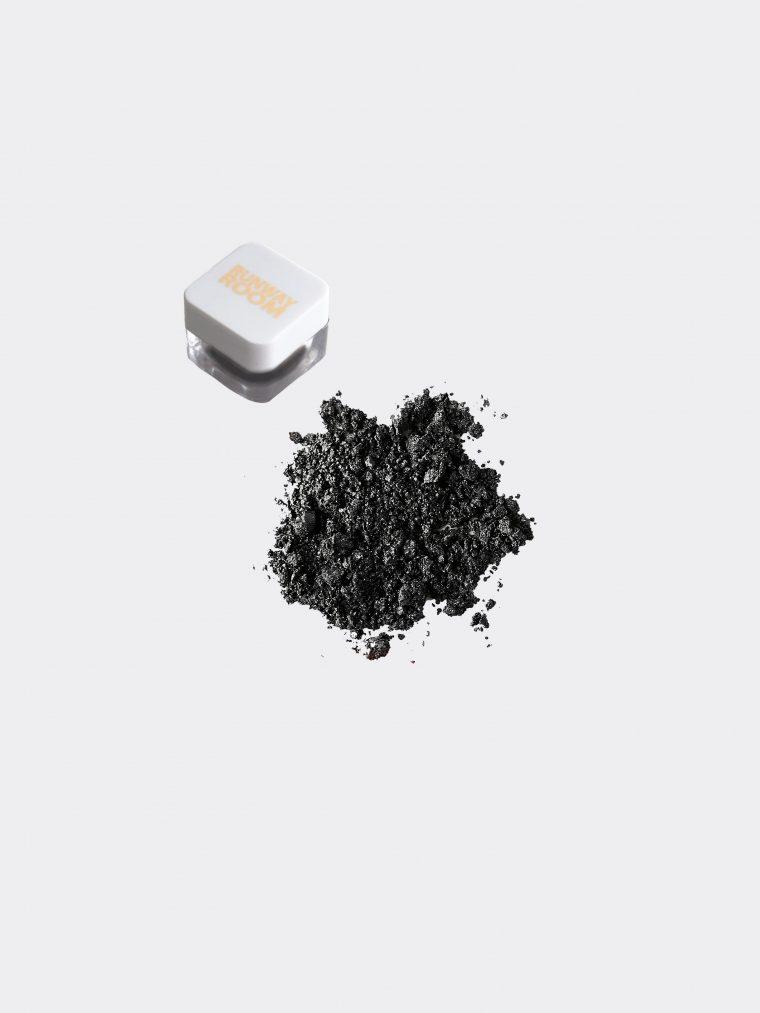 eye dust black sand