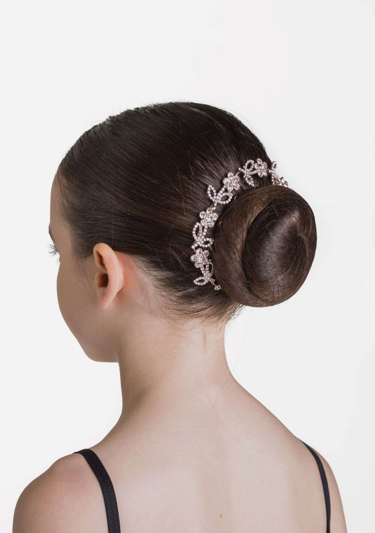 floral sparkle hairpiece