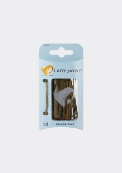5cm brown bobby pins