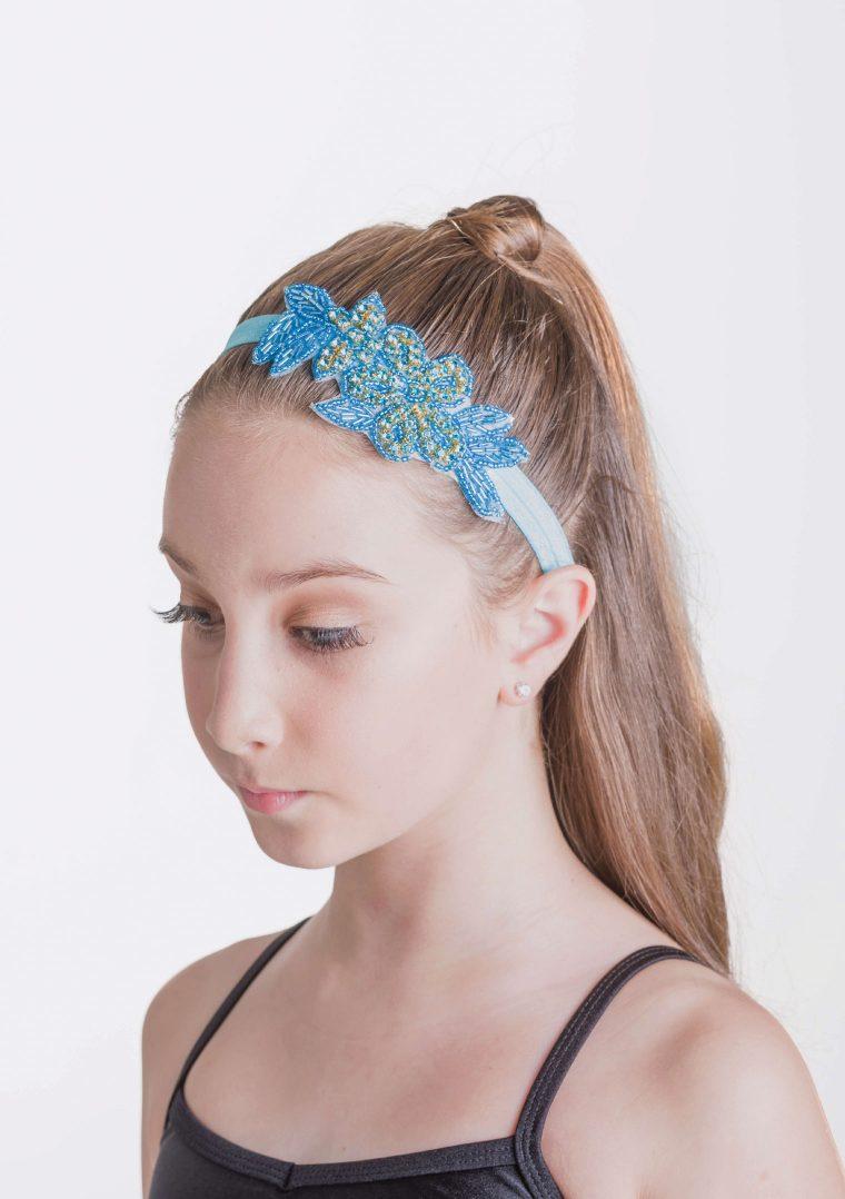 illuminate headband turqoise