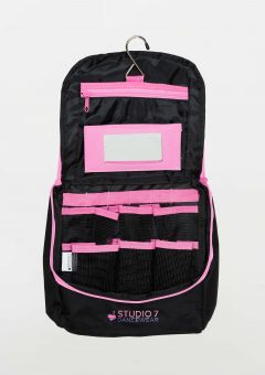 junior makeup bag pink