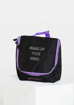 junior makeup bag purple