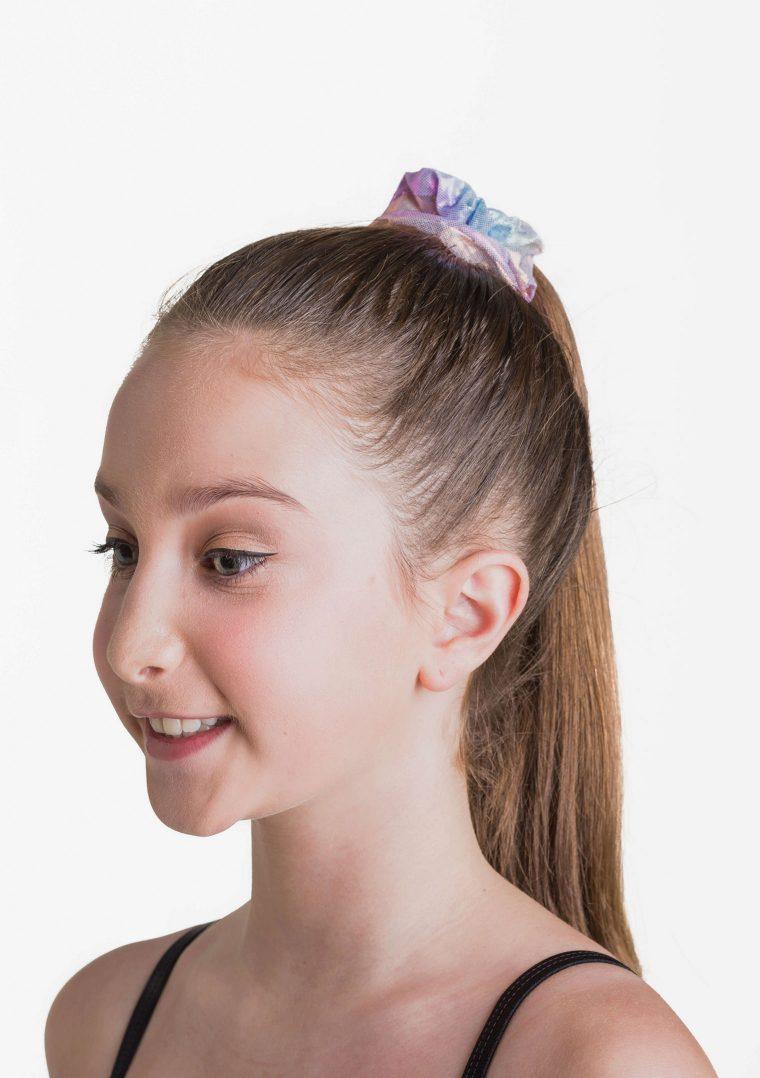 metallic scrunchie unicorn