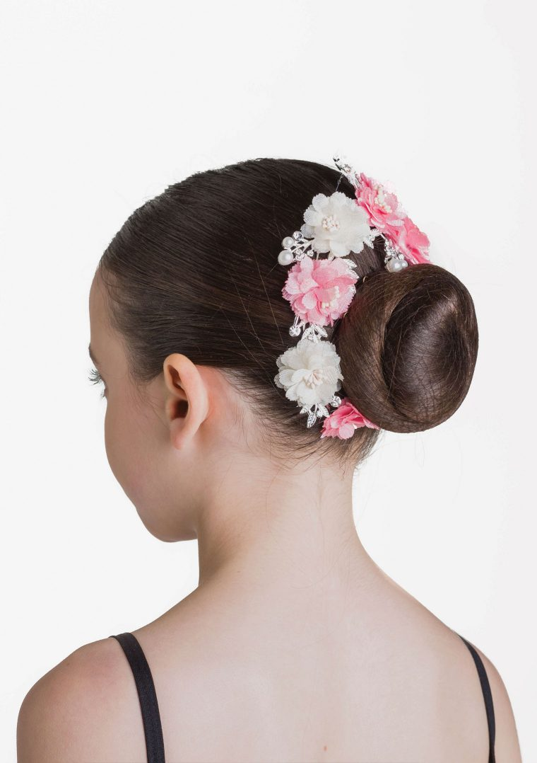 pearls and petals hairpiece