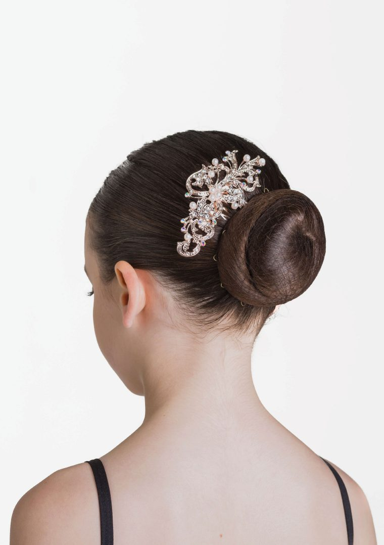 rose sparkle haircomb