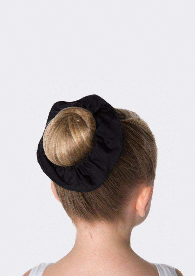 tactel scrunchie black