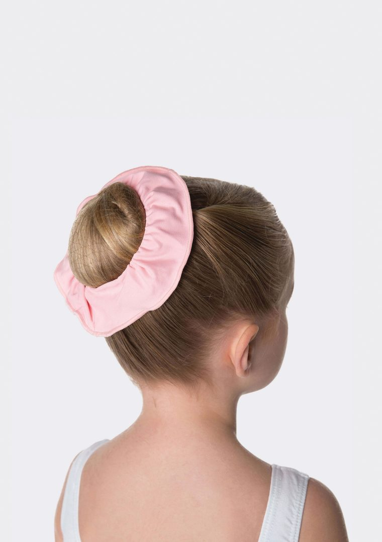tactel scrunchie ballet pink