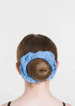 tactel scrunchie cornflower blue