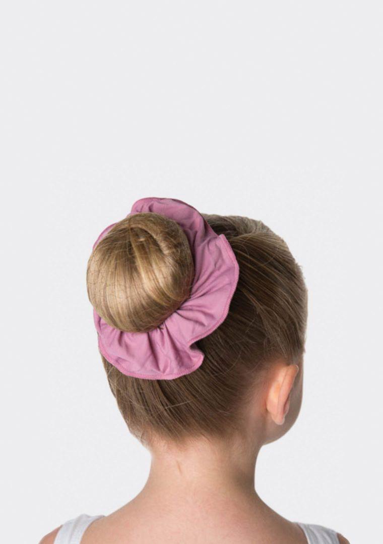tactel scrunchie dusty pink