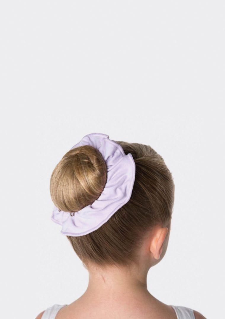 tactel scrunchie lilac
