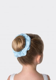 tactel scrunchie pale blue