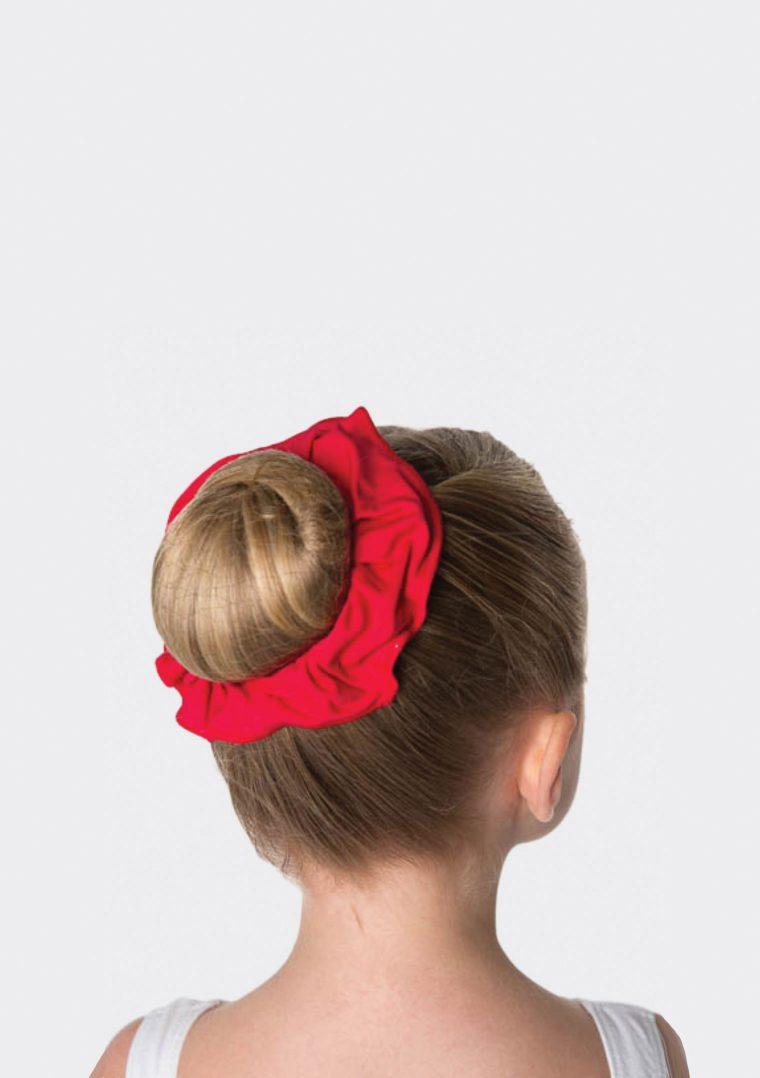 tactel scrunchie red