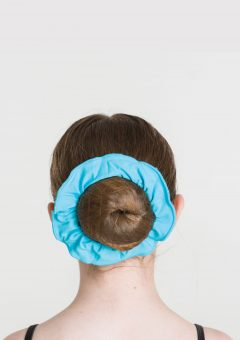 tactel scrunchie turquoise