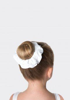 tactel scrunchie white