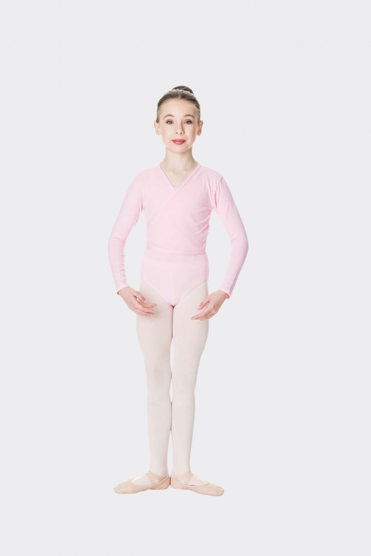 crossover ballet pink