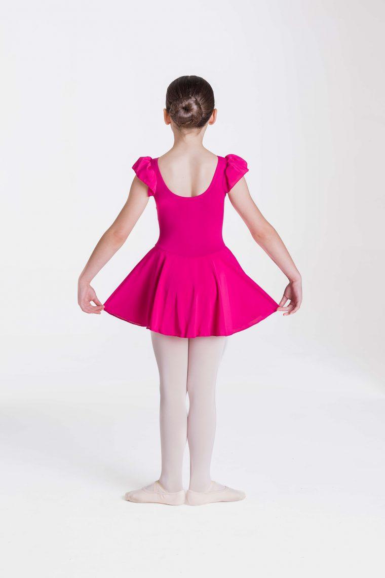 Cap sleeve chiffon dress Mulberry