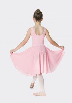 long circle skirt ballet pink