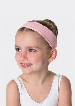 tactel headband ballet pink