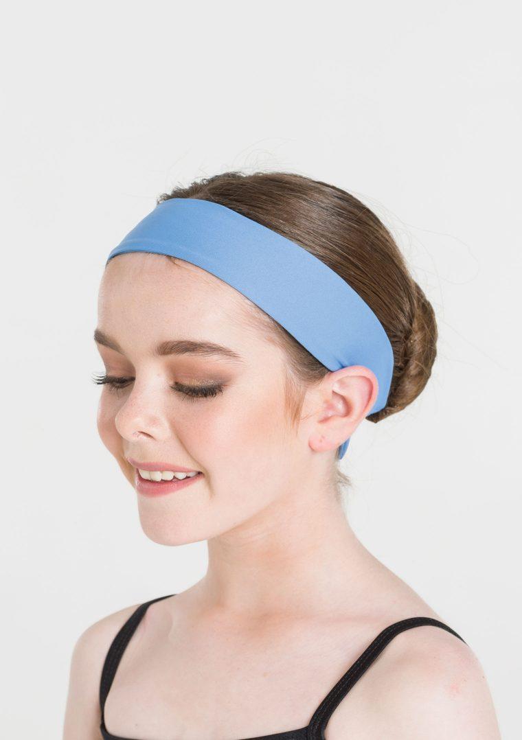 tactel headband cornflower blue