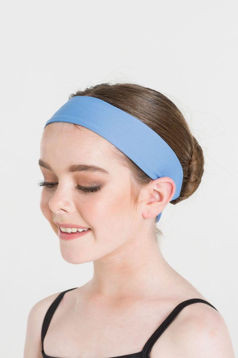 tactel headband cornflower blue