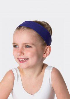 tactel headband dark purple