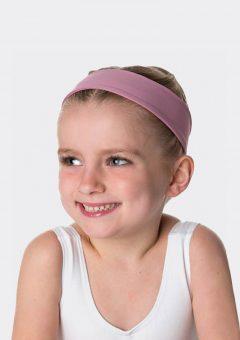 tactel headband dusty pink